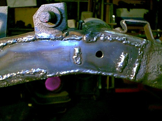 Repairing a Rusted, Broken Frame