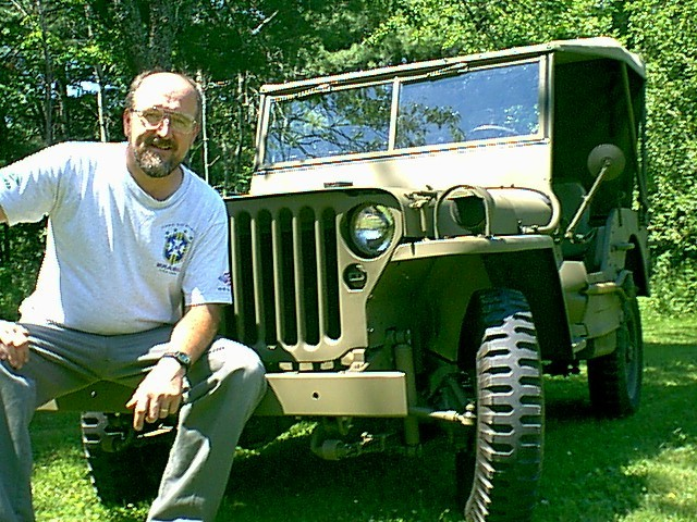 restorer with jeep