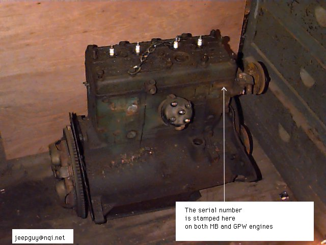 Eng Ser Number on Ford Engine Block Serial Numbers